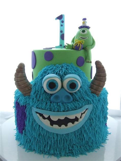 monsters inc cake monsters inc birthday cake birthdays