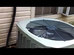 Hvac Install  4 Ton Trane Xb 13 Condenser  U0026 Evap Coil