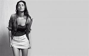 Black and white megan fox free desktop backgrounds and ...