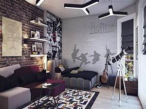 Beatles Theme Teenage Bedroom Ideas for Boys | Your Dream Home