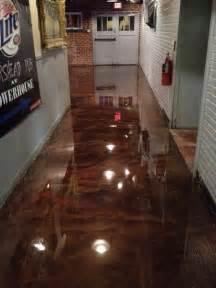 Epoxy Painted Concrete Floors