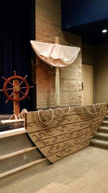 Life Size Moana Boat Diy by Love The Stair Idea Of A Ship Can Make It A Sunken Ship