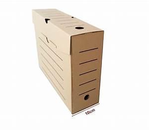 Boite De Rangement Carton : carton rangement dossier ~ Teatrodelosmanantiales.com Idées de Décoration