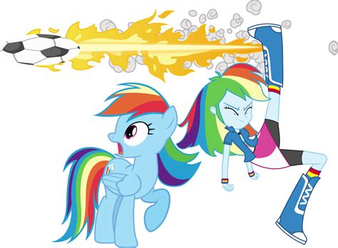 Rainbow Dash And Rainbow Dash By Vector-brony On Deviantart