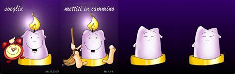 la candela dell avvento anno  cantalavita