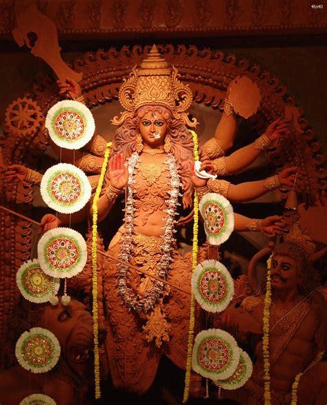 Animated Goddess Durga Wallpapers - durga festival durga puja wallpaper free wallpapers