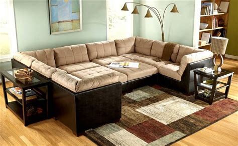 Pit Sofa Furniture by 10 Pc Modular Pit Sectional Grable Collection