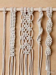 How to Tie Macrame Knots