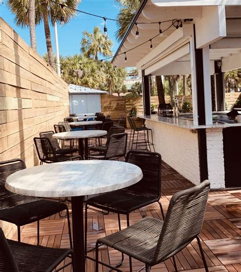 Amazon table accent bench tov furniture the jax. Open Air Dining in Jax