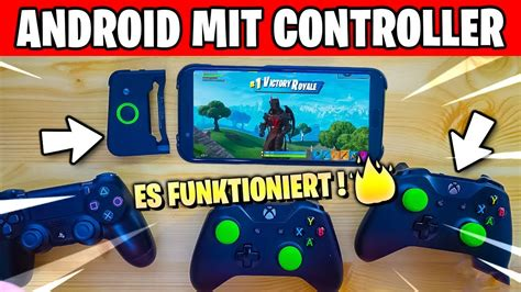 fortnite android mobile mit xbox  ps controller