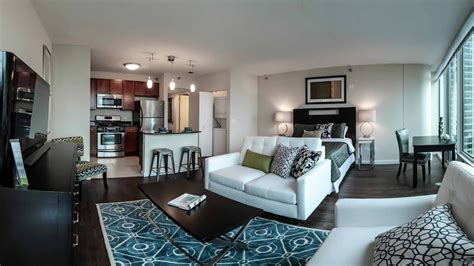 Luxury Studio Apartment by Tour A Luxury Studio Model At Atwater Apartments