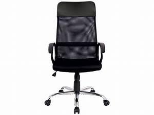 Conforama Chaise Bureau : fauteuil de bureau derek coloris noir vente de fauteuil de bureau conforama ~ Teatrodelosmanantiales.com Idées de Décoration
