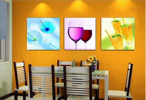 Panels Hanging Cheap Kitchen Wall Art