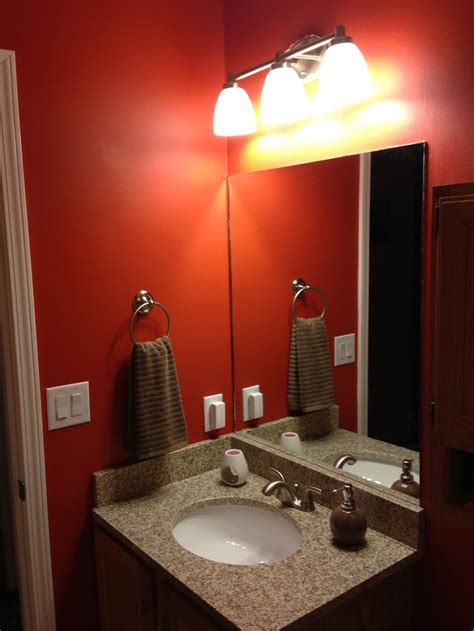 paint valspar crimson glow granite countertop