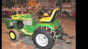 John Deere 112 Pulling Tractor