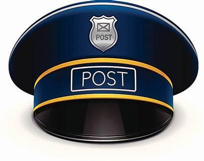 Mail Carrier Clip Illustrations Cap Postman Vector