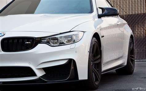 Bmw M Performance Tuning Am Bmw M4 Coupé In Mineralweiss