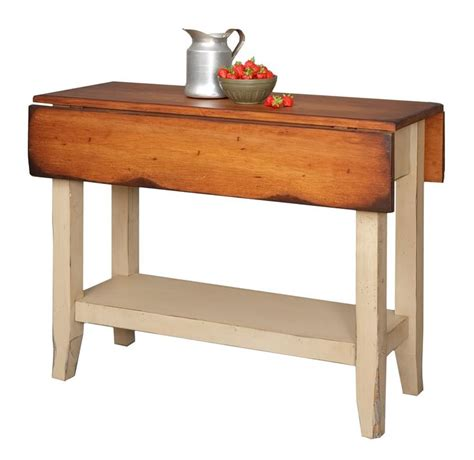 country kitchen side table primitive kitchen island table small drop side farmhouse