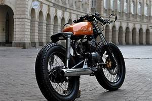 Yamaha 135 Cafe Racer by Bombay Custom Works | 350CC.com