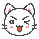Cat Kitten Avatar Icon Face Icons Droopy