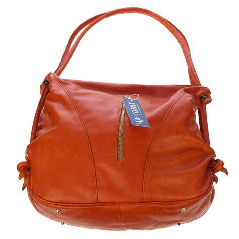 italian handbags designers list stephen italian made orange leather top handle designer
