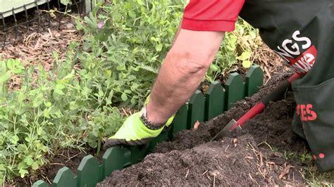 install garden edging diy  bunnings youtube