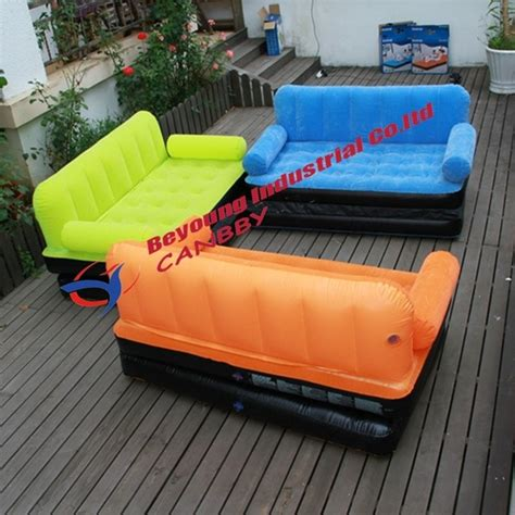 bestway  multi max double flocked inflatable sofa bed