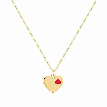 Heart Jewelry Necklace Cowgirl Double Bling Analuisa