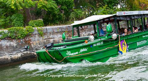 Duck Boat Tours Of Boston by Boston Duck Tours Discounts And Deals Boston Discovery