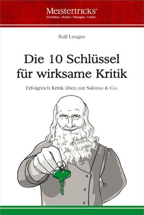 Das Schlüsselschlossprinzip  Bücherstadt Kurier