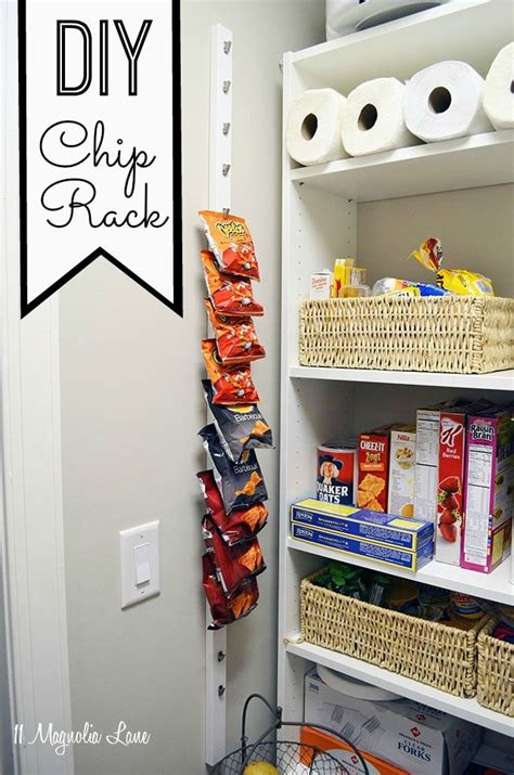 vertical kitchen storage diy 10 pantry chip rack homestyle organized 3129