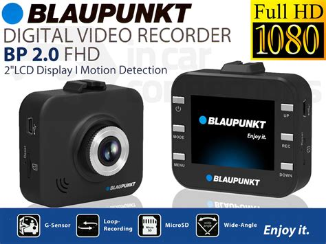 Blaupunkt Bp 2.0 Hd 1080p Dash Camera
