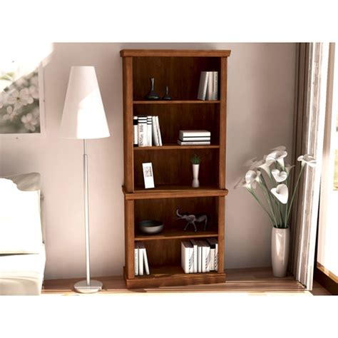 better homes and gardens bookshelf better homes and gardens 5 shelf bookcase abby oak