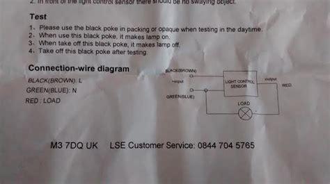Help Wiring Photocell Dusk Dawn Sensor Flash Light