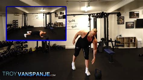 kettlebell workout cardio minute