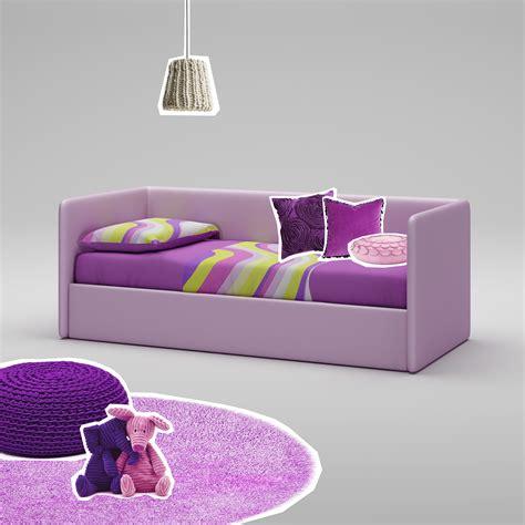 canapé lit ado luminaire chambre ado fille