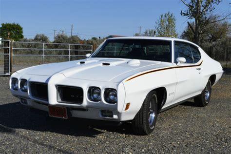 Pontiac Gto Coupe Polar White For Sale