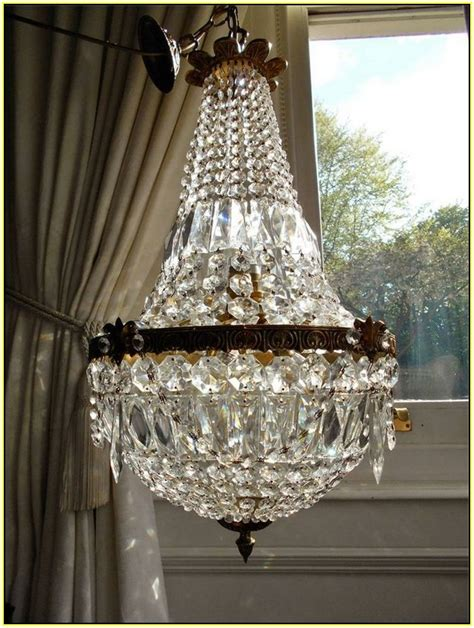 antique french empire crystal chandelier chandelier