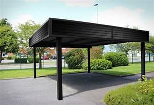 Garage Le Moins Cher : le carport esth tique et pratique la fois am nagement ext rieurs ~ Medecine-chirurgie-esthetiques.com Avis de Voitures