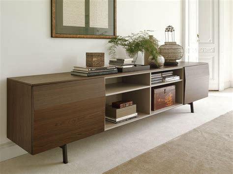 bontempi casa wooden sideboard amsterdam shelving units collection by