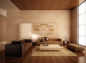 Moderne Holzdecken Beispiele : 60 top modern and minimalist living rooms for your inspiraton homedizz ~ Markanthonyermac.com Haus und Dekorationen