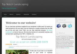 top notch landscaping  crane   oakdale ca