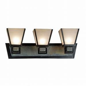 Bathroom light with art glass in oil rubbed bronze finish for How to clean oil rubbed bronze bathroom fixtures