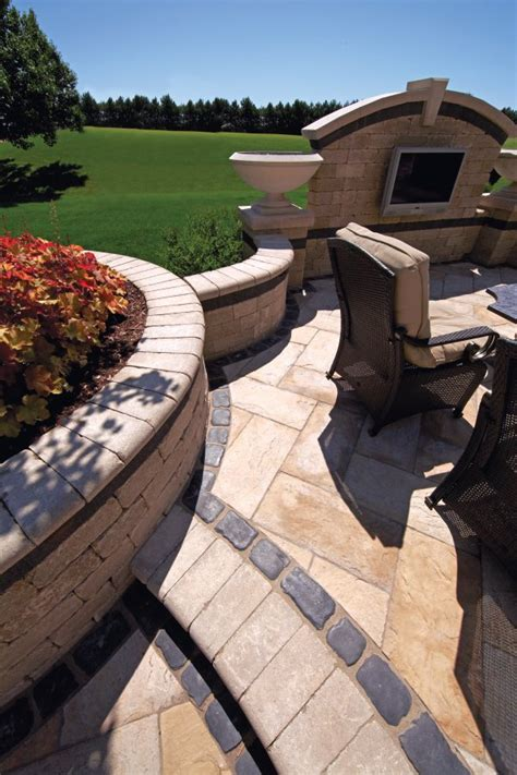 unilock yorkstone unilock patio with yorkstone paver and brussels