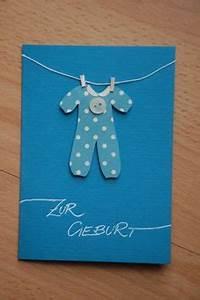 Baby Geschenk Basteln : gl ckwunschkarte zur geburt karten selber basteln pinterest ~ Frokenaadalensverden.com Haus und Dekorationen