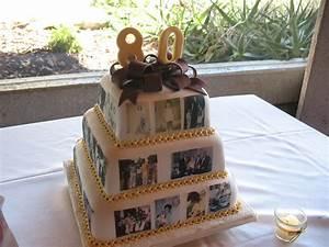 80th, Birthday, Cake