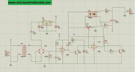 Triac Firing Angle Control Circuit