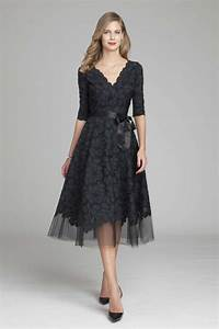 teri jon lace and tulle v neck a line dress teri jon With aline dresses for wedding guests