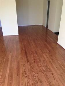 red oak wood floors with early american stain With early american floor stain