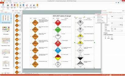 Hazard Pictograms Transport Solution System Classification Ghs